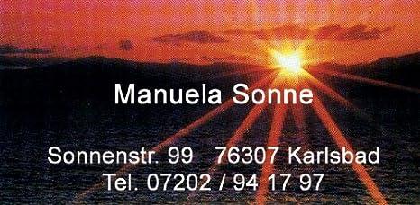 88 x 45 mm 54 St/ück VisitenkartenTau mit Ihrer kompletten Adresse ca