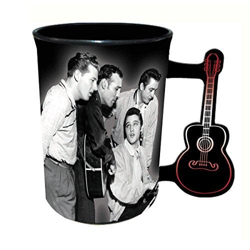 Million Dollar Quartet Mug - 16 oz - With Guitar Handle