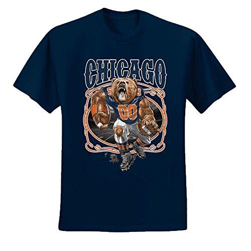 ntasy Football | Mens Sports Graphic T-Shirt, Navy, Large ()