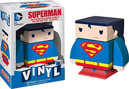 "Superman ~1.6"": DC Universe x Funko Vinyl Cubed Interchangeable Magnetic Figure"