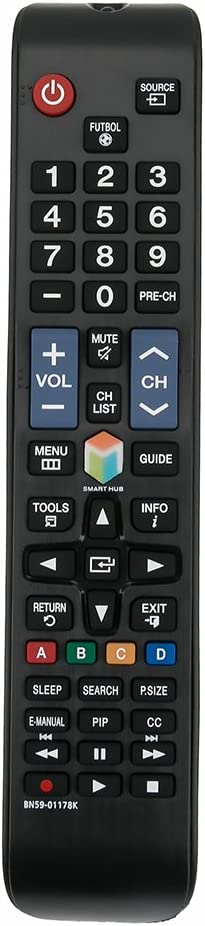 Mando a distancia de repuesto BN59-01178K para Samsung TV UN32H4303AH UN55ES6100: Amazon.es: Electrónica