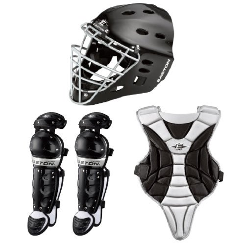 Easton Black Magic Catcher Box Set, Black, Junior Youth