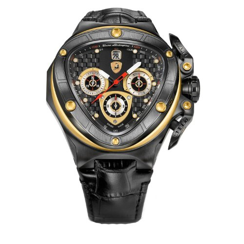 Tonino Lamborghini Spyder 8955 Black Chronograph Automatic Watch