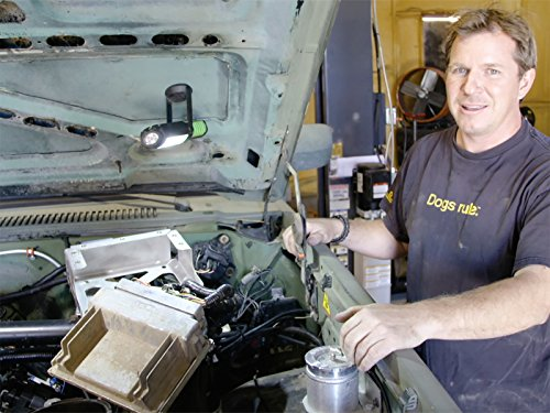 Mounting an Engine Computer in the Alaska Army Truck ()