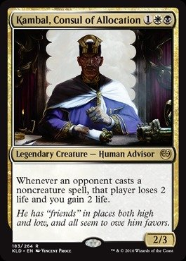 Magic: the Gathering - Kambal, Consul of Allocation (183/264) - Kaladesh