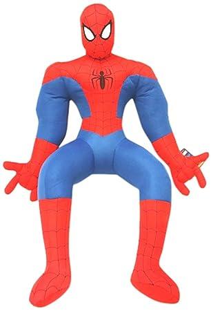 Marvel Peluche Spiderman Action Solo 80 cm: Amazon.es ...