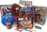 Star Wars Gift Basket, Get Well Soon, Care Package, Kids Action Pack, Star Wars Toy Puzzle, Star Wars Cup & Bowl, Coloring Book & Candy, Tissues & Stickers + Star Wars Campbell's Soup 11pc Bundle