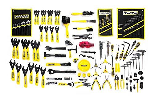 - Pedro's Master Bench Tool Kit Yellow/Black, One Size