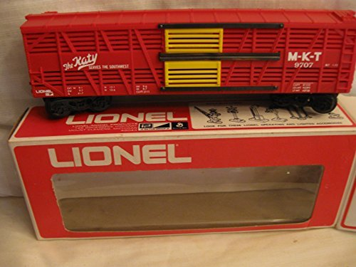 Lionel Train CarMKT Cattle Train Car 6-9707 (Christmas Mth Layout)