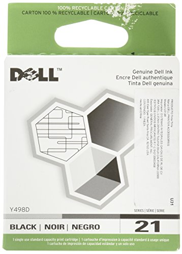 Dell Y498D Series 21 Standard Capacity Black Cartridge for V313w V515w P513w V715w P713w Ink