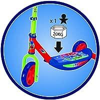 Smoby-750165 Patinete 3 Ruedas, Multicolor (750165)