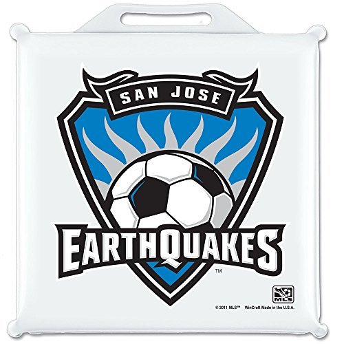 San Jose Earthquakes Official MLS 14 inch x 14 inch Stadium Seat Cushion by Wincraft
