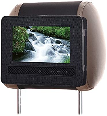 Portable Dvd Player Car Headrest Mount Holder 9 9 5 Inch Car Audio Video Swivel And Flip
