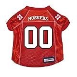 Nebraska Cornhuskers Premium NCAA Pet Dog Jersey w/ Name Tag XL