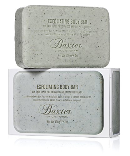 Price comparison product image Baxter of California Men's Exfoliating Body Bar, 7 oz