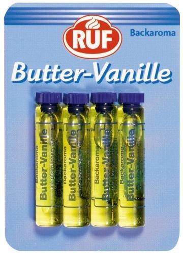 Ruf Backaroma Butter-Vanille, 20er Pack (20 x 8 g Packung)