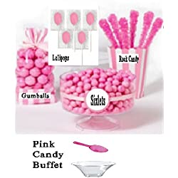 Pink Candy Buffet
