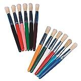 Stubby Paint Brush Pack