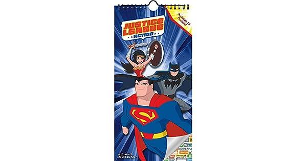 Amazon.com: Justice League Calendario 2019 Set - Mini póster ...