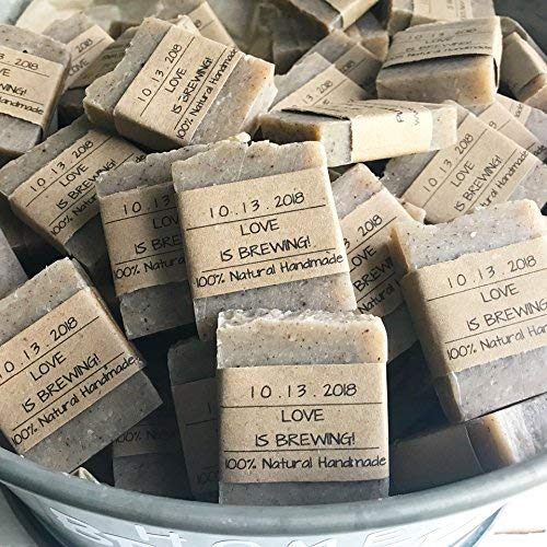 Beer Wedding Favors, Fall Soap, Fall Wedding Favors, 50 Pumpkin Spice Soap Wedding Favors, Home Brewed Soaps