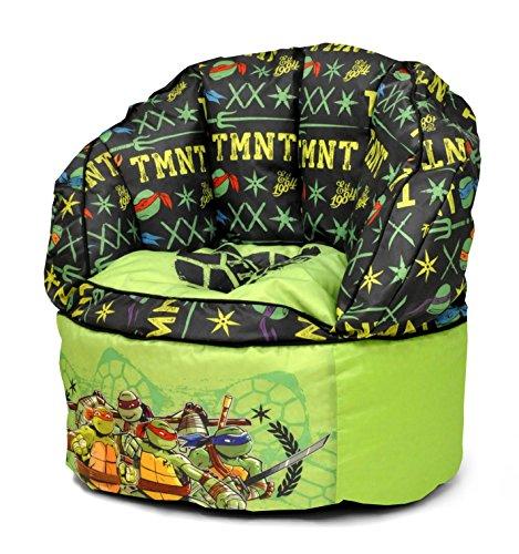 Nickelodeon Teenage Mutant Ninja Turtles Toddler Bean Bag Chair, Green,