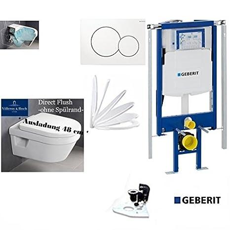 Geberit Duofix UP320 111.300.00.5 inkl Bausatz für Montage,Sigma01,Schallschutz