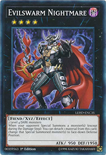 Yu-Gi-Oh! - Evilswarm Nightmare - LEHD-ENC35 - Common - 1st Edition - Legendary Hero Decks - Phantom Knights Deck