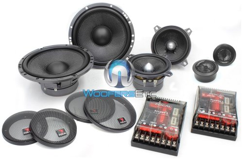 Focal Access 165 A3 6.5-Inch 3-Way Component Speaker Kit -