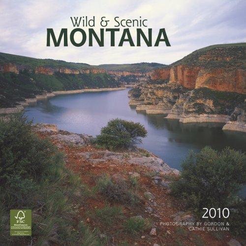 Montana, Wild & Scenic 2010 Square Wall (Multilingual Edition)