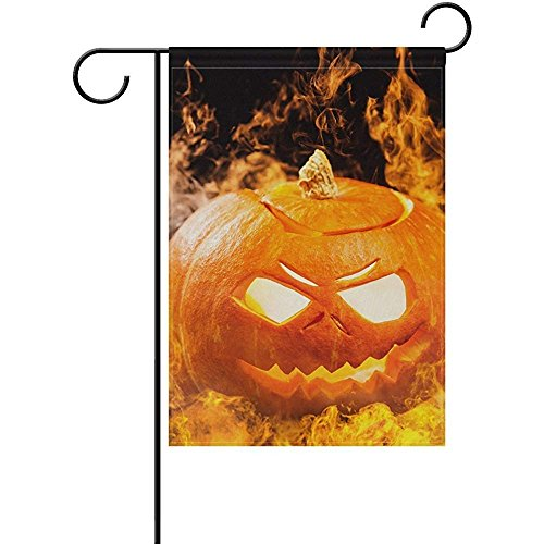 Halloween Pumpkin Seasonal Holiday Polyester Garden Yard Fla