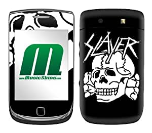 XiFu*MeiMusicSkins, MS-SLAY10199, Slayer - Death's Head, BlackBerry Torch (9800), SkinXiFu*Mei