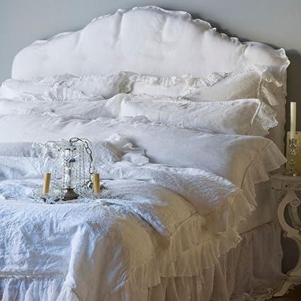 Amazon Com Bella Notte Linens Linen Whisper Bedding Set
