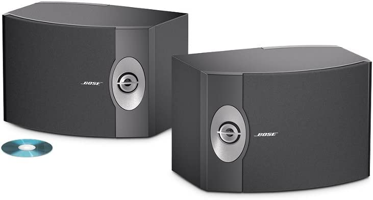 Bose 301-V Stereo Loudspeakers (Pair, Black)