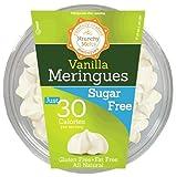 Krunchy Melts – Sugar Free Meringues – Vanilla Flavor – 2 Oz Tub
