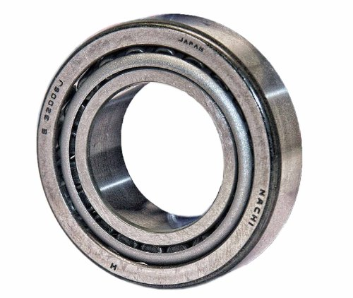 Nachi 32006 Tapered Roller Bearing Cone and Cup Set, Single Row, Metric, 30mm ID, 55mm OD, 17mm (Nachi Cylindrical Roller Bearing)