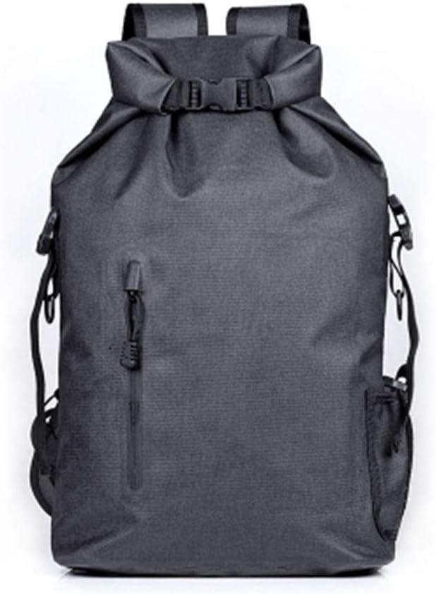 リール防水バックパック、大容量20lの保管寿命の必需品、屋外のハイキングに適した乾燥したアイテムを保護するための素材