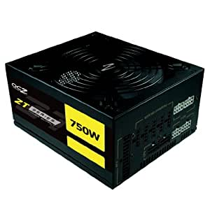 PC Power & Cooling ZT Series OCZ-ZT750W 750 Watt (750W) 80 Plus Bronze Fully-Modular Active PFC ATX PC Power Supply Performance Grade