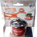 Best Knife Sharpener - #1 Choice of Master Chefs - Sharpens A Variety of Kitchen and Garden Utensils: 100% Customer Satisfaction Guarantee Or Money Back, No Questions Asked - Tough, Longer Lasting Sharp - All Sizes Including Carving, Bread, Electric, Serr