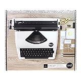 American Crafts 663063 Typewriter We R Memory Keepers Typecast White Typewriter,White