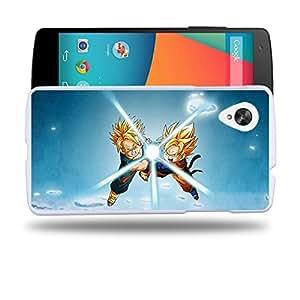 Case88 Designs Dragon Ball Z GT AF Son Goku Super Saiyan Goten & Trunks Kamehameha Protective Snap-on Hard Back Case Cover for LG Nexus 5
