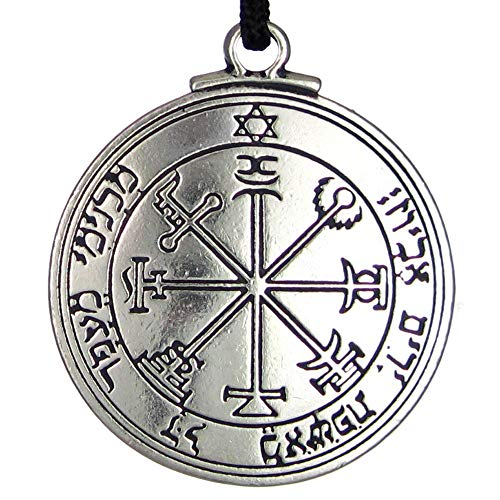 Pentacle of Jupiter Talisman Key of Solomon Seal Pendant Hermetic Enochian Kabbalah Pagan Wiccan Jewelry