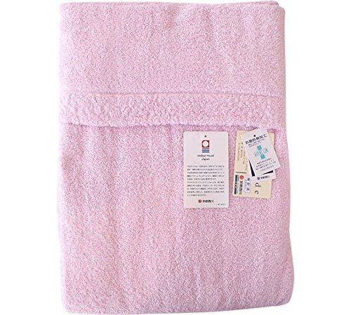 京都西川 ダブルサイズ タオルケット(今治)(日本製) (ピンク色) B01EW886X8 ピンク色