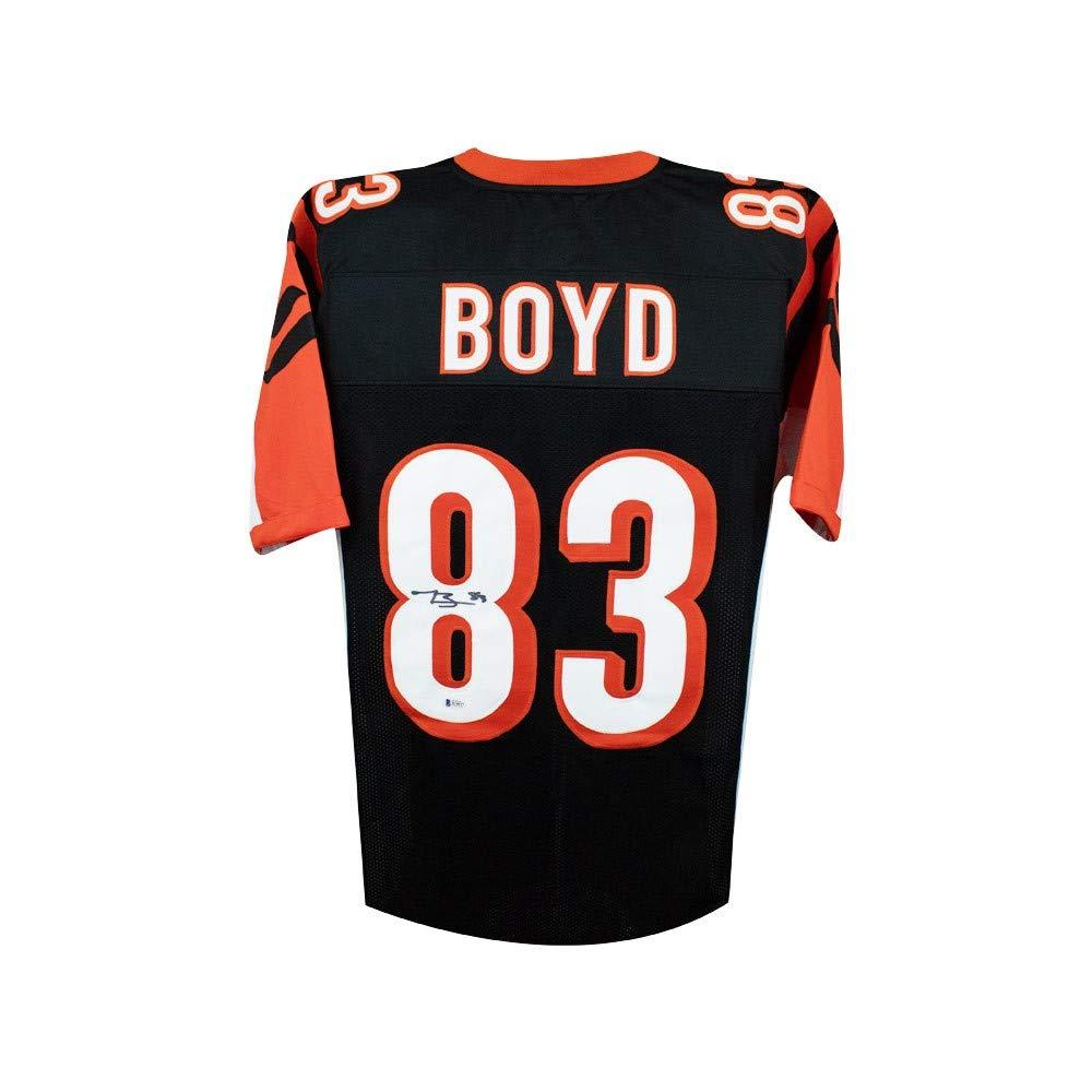 Tyler Boyd Autographed Cincinnati Bengals Custom Black Football Jersey -  BAS COA at Amazon s Sports Collectibles Store 9b5c373ea