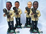 4 PLAYER NFL HALL OF FAME INDUCTION BOBBLEHEAD STATUE SET ALLEN BETHEA LOFTON