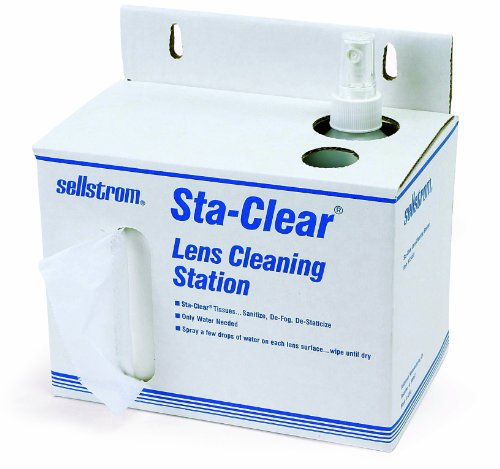 Sellstrom S23469 Sta-Clear Safety Glass, Disposable Lens ...