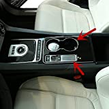 Inner Electronic Handbrake & Water Cup Holder Cover 2pcs For Jaguar XF X260 2016