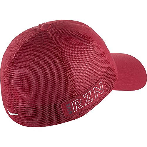 e4294c10336 Galleon - 2015 NIKE Golf Tour Legacy VAPOR RZN Mesh Fitted Cap COLOR  Gym  Red SIZE  L XL