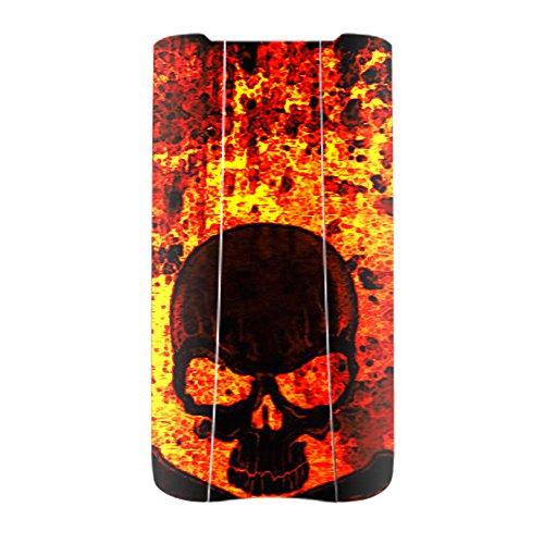 Danger Hard Case (MightySkins Protective Vinyl Skin Decal for Parrot BEBOP 2 Battery wrap cover sticker skins Bio Skull)
