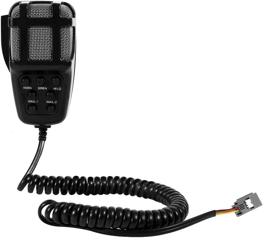 Regun 12V Loud Horn Sirene 7 Sounds Horn 12V Loud Horn Sirene 7 Sounds Horn mit Mic PA Lautsprechersystem f/ür Auto Boot Van Truck