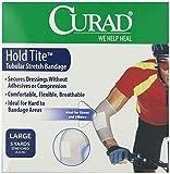 Curad Hold Tite Tubular Stretch Bandage Large Dressing (5 Yards) - Pack of 4